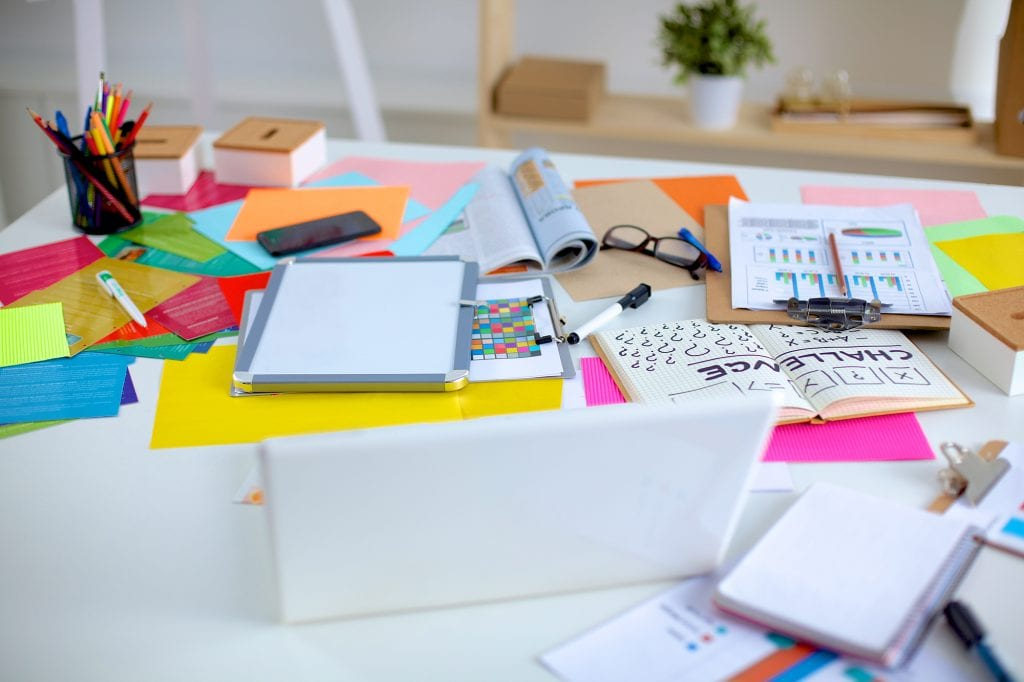 Stół grafika