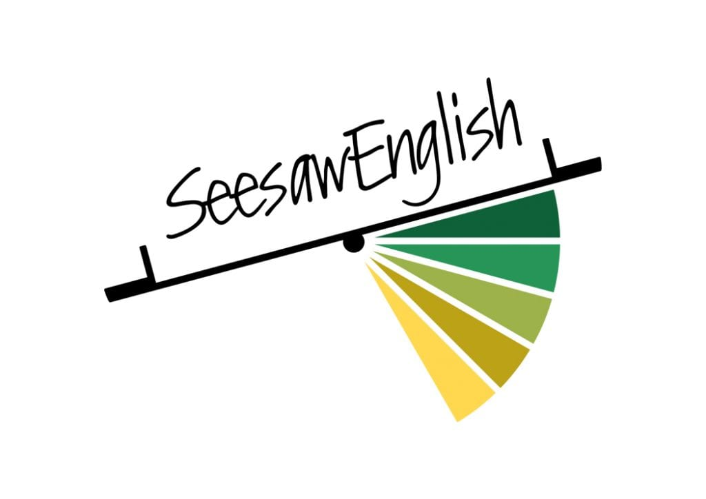 Projekt logo Seesaw English