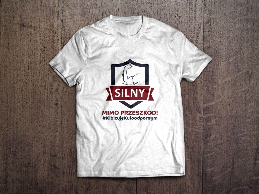 Nadruk na koszulkę dla kibica amb futbolu